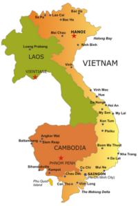 SE Asia Map